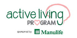Part of the Active Living Program sponsored by Manulife